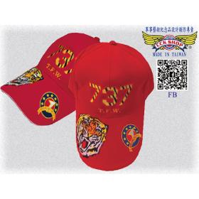 空軍737聯隊小帽(紅)